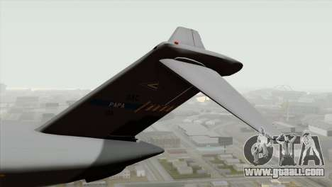 C-17A Globemaster III NATO for GTA San Andreas back left view
