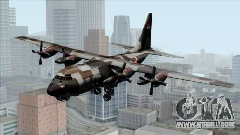 C-130B Indonesian Air Force (TNI AU) for GTA San Andreas