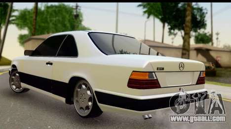 Mercedes Benz E320 W124 Coupe for GTA San Andreas left view