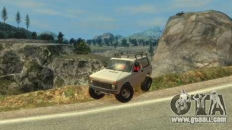 VAZ 21213 Niva for GTA 4 bottom view