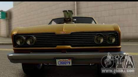GTA 5 Vapid Blade SA Mobile for GTA San Andreas back left view