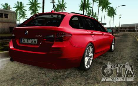 BMW 530d F11 Facelift IVF for GTA San Andreas left view