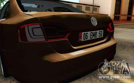 Volkswagen Jetta Air for GTA San Andreas back view