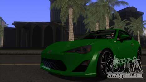 Scion FR-S 2013 Stock v2.0 for GTA San Andreas side view