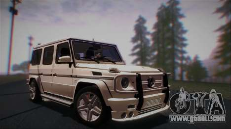 Mercedes-Benz G65 2013 AMG Body for GTA San Andreas