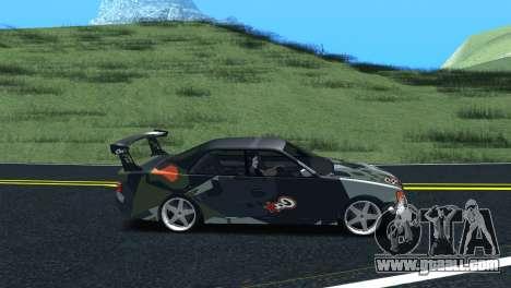 Toyota Chaser Tourer V Fail Crew for GTA San Andreas back left view