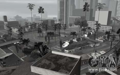 Black-and-white ColorMod for GTA San Andreas