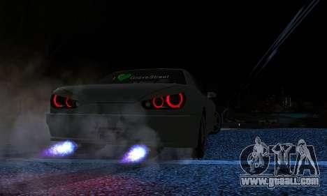 Elegy I Love GS v1.0 for GTA San Andreas right view