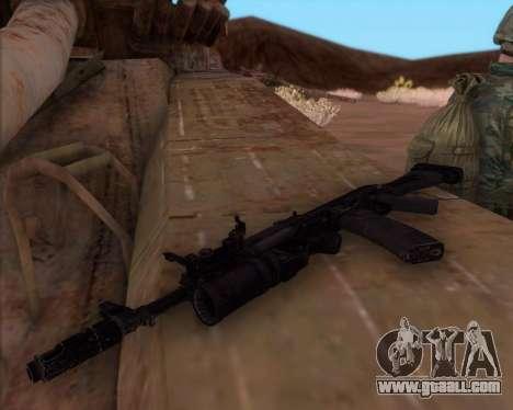 The Kalashnikov AK-74M for GTA San Andreas third screenshot