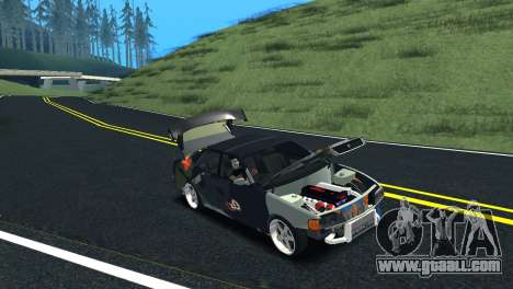 Toyota Chaser Tourer V Fail Crew for GTA San Andreas back view