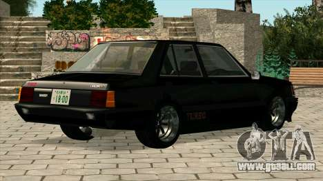 Mitsubishi Lancer EX 1800GSR Turbo Zenki for GTA San Andreas left view