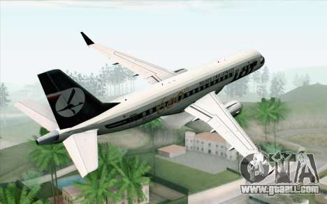 Embraer EMB-175 LOT Polish Airlines 600th E-Jet for GTA San Andreas left view
