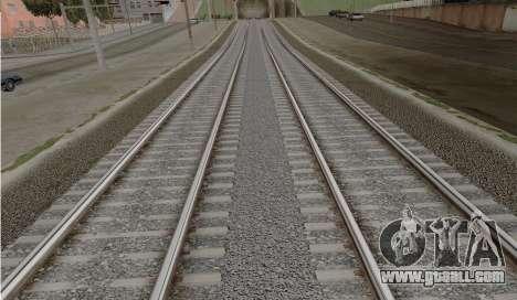 HD Rails v3.0 for GTA San Andreas second screenshot