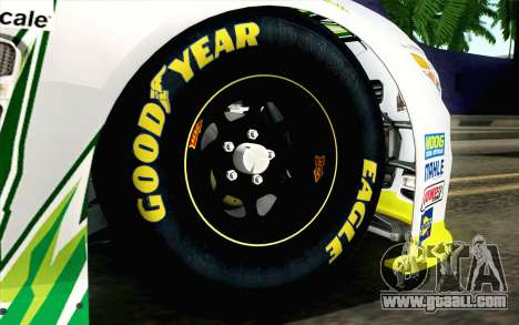NASCAR Chevrolet SS 2013 v4 for GTA San Andreas back left view