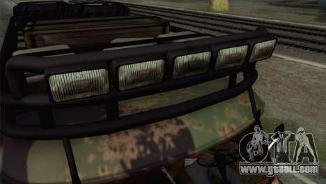 UAZ 2206 Loaf for GTA San Andreas right view