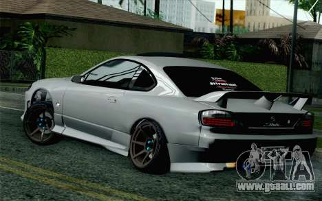 Nissan Silvia S15 SuperHero for GTA San Andreas left view