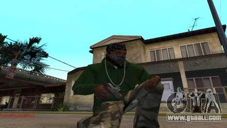 Black Deagle for GTA San Andreas