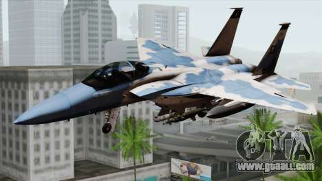 F-15E Artic Blue for GTA San Andreas
