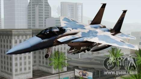 F-15E Artic Blue for GTA San Andreas