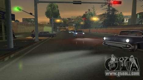 Road Reflections Fix 1.0 для GTA San Andreas for GTA San Andreas sixth screenshot