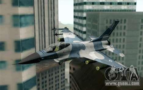 F-16 Osean Air Defense Force for GTA San Andreas