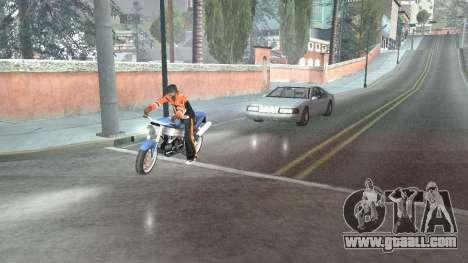Road Reflections Fix 1.0 для GTA San Andreas for GTA San Andreas second screenshot