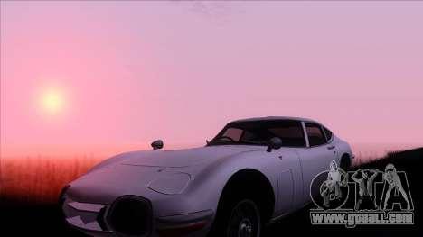 ENB Gamerealfornia v1.00 for GTA San Andreas second screenshot