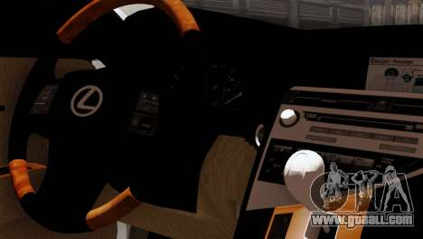 Lexus RX450H v2 for GTA San Andreas