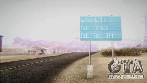 Horizontal ENB 0.076 Medium v1.0 for GTA San Andreas second screenshot