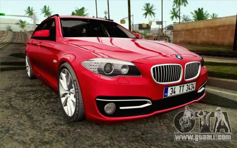 BMW 530d F11 Facelift IVF for GTA San Andreas