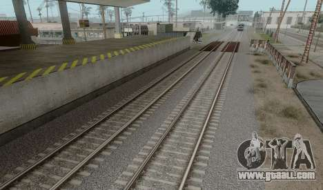 HD Rails v3.0 for GTA San Andreas