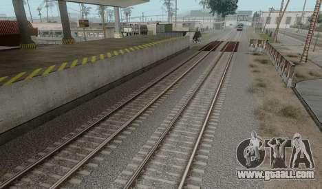 HD Rails v3.0 for GTA San Andreas third screenshot