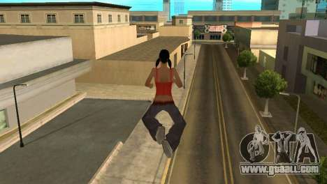 Cleo Fly for GTA San Andreas second screenshot