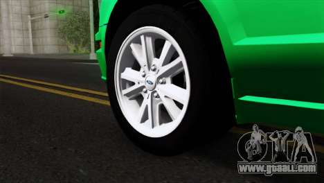 Ford Mustang GT Wheels 2 for GTA San Andreas back left view
