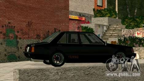 Mitsubishi Lancer EX 1800GSR Turbo Zenki for GTA San Andreas back left view