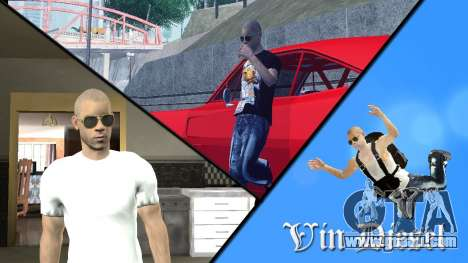 Vin Diesel for GTA San Andreas second screenshot