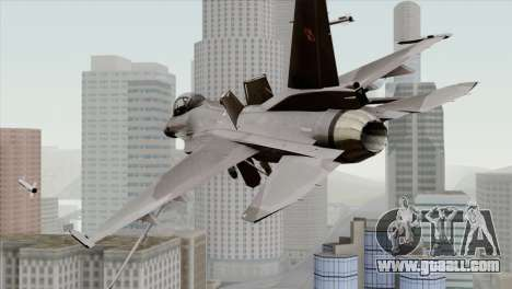 F-16C Block 52 for GTA San Andreas