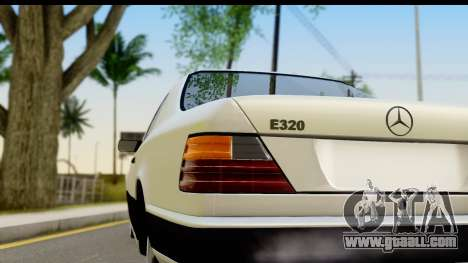 Mercedes Benz E320 W124 Coupe for GTA San Andreas right view