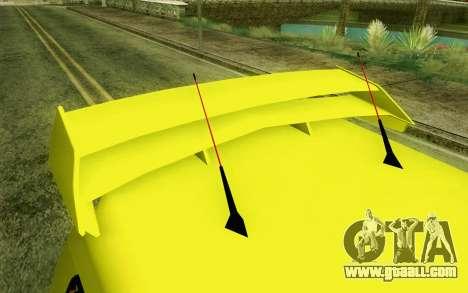 Daihatsu Espass Angkot YRT for GTA San Andreas back view