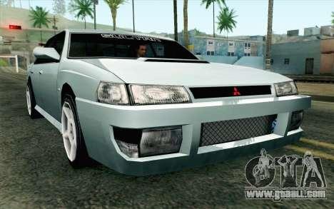 Sultan Lan Evo for GTA San Andreas