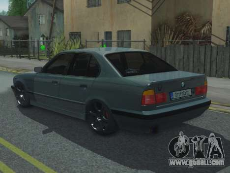 BMW 525 E34 Tune for GTA San Andreas left view