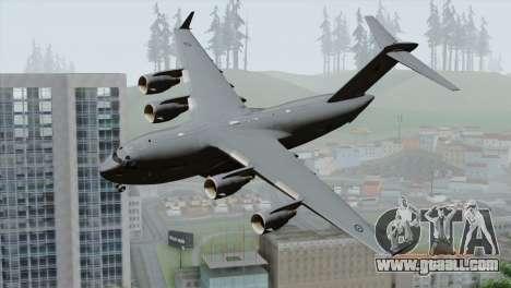 C-17A Globemaster III RAF for GTA San Andreas