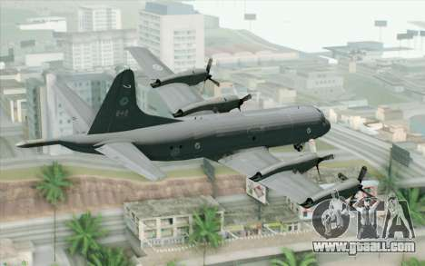 Lockheed P-3 Orion RCAF for GTA San Andreas left view