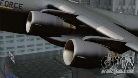 C-17A Globemaster III USAF Mississippi for GTA San Andreas right view