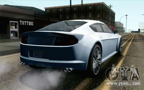 GTA 5 Dewbauchee Exemplar IVF for GTA San Andreas left view