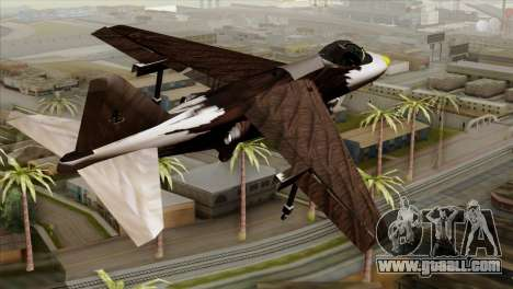 Hydra Eagle for GTA San Andreas left view