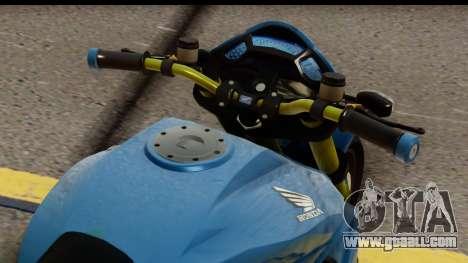 Honda CB1000R v2.0 for GTA San Andreas back left view