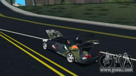 Toyota Chaser Tourer V Fail Crew for GTA San Andreas inner view