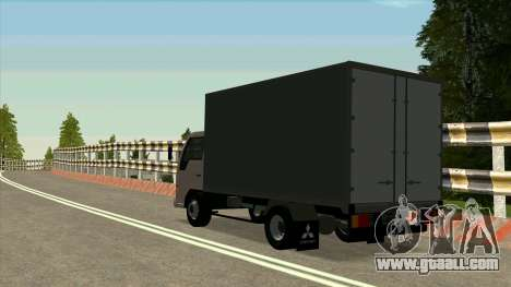 Mitsubishi Fuso Canter 1989 Aluminium Van for GTA San Andreas right view