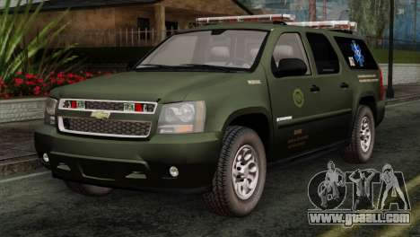 Chevrolet Suburban National Guard MedEvac for GTA San Andreas